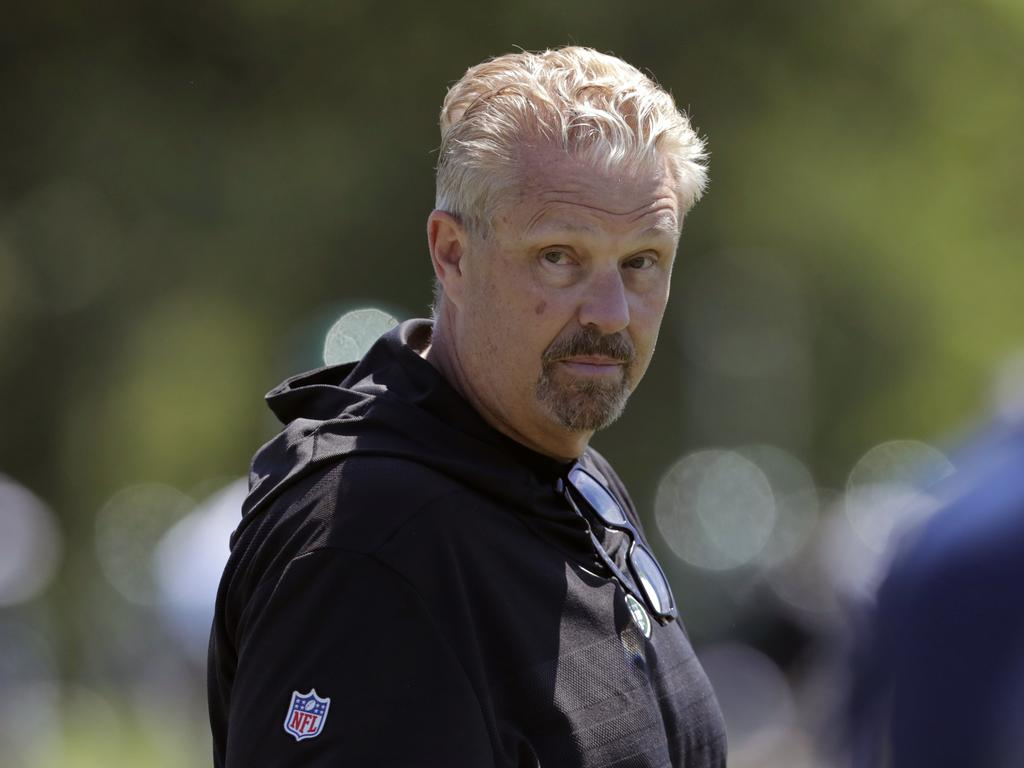 New York Jets defensive coordinator Gregg Williams.