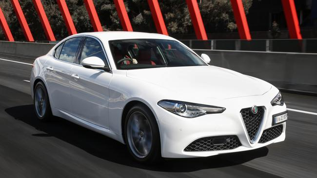 Alfa's Giulia is critically acclaimed, but a slow seller.