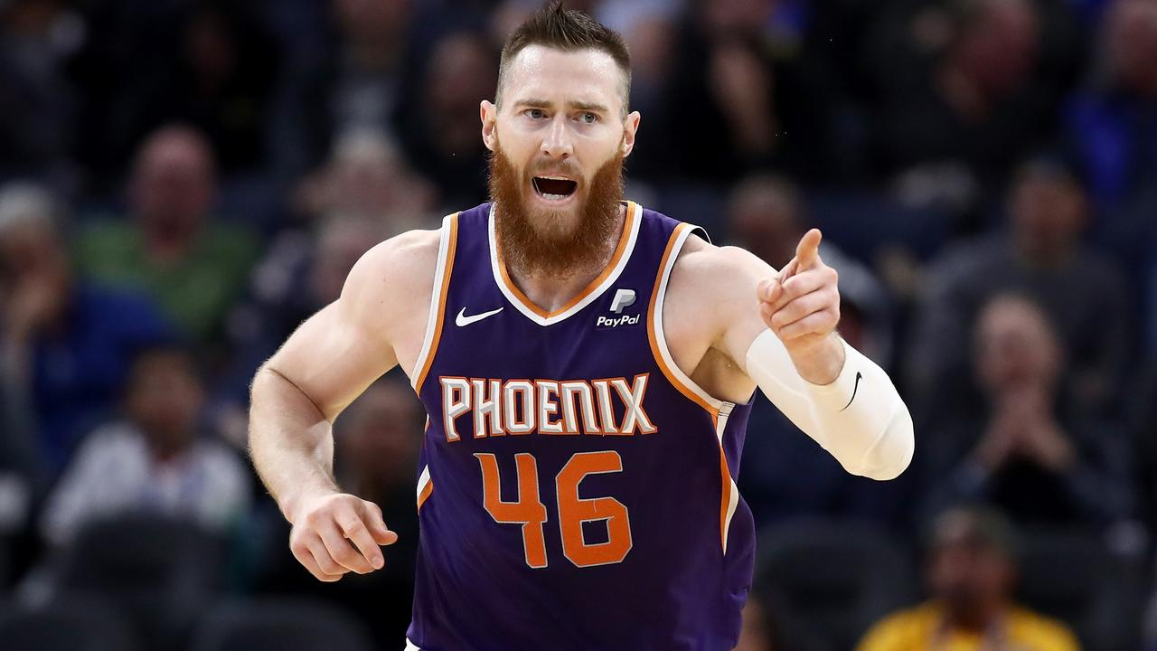 Aron Baynes has stepped up in a big way for the Suns.