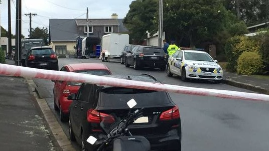 The attack took place in an affluent Wellington suburb. Picture: Melissa Nightingale