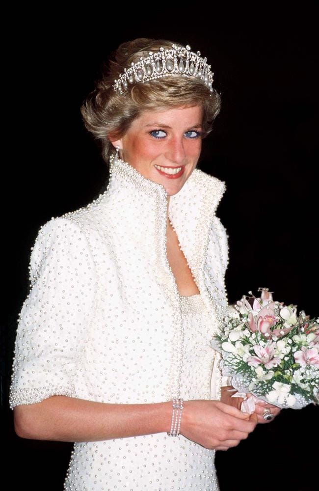 Princess Diana was known for her iconic tiara looks. Picture: Tim Graham