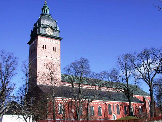 Strängnäs Cathedral in Sweden where jewels were stolen.