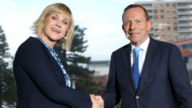 The race between Zali Steggall and Tony Abbott has been one of the closely watched in this election. Picture: Getty Images