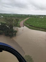 TOWNSVILLE FLOOD DISASTER: Over Black Gully. Picture: Dwyer Aviation Services/Facebook