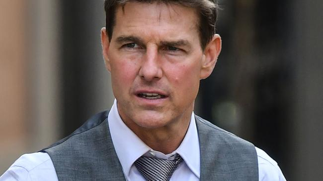 Mission Impossible: Lybra has already faced several on-set delays amid the pandemic. Picture: Alberto Pizzoli/AFP.