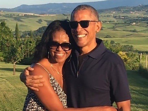 Michelle Obama has opened up about the struggles she and her husband faced to conceive. Picture: Instagram