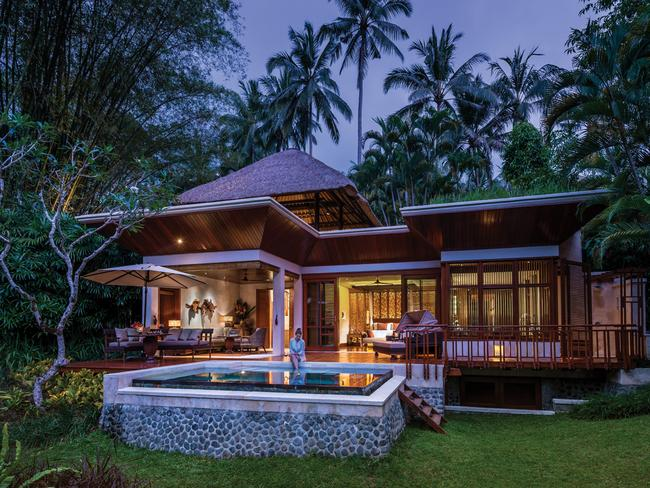 Looking for answers ... the Four Seasons Bali Sayan in Ubud, Bali. Picture: Supplied