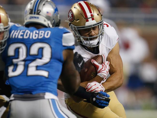 Hayne's fourth carry.