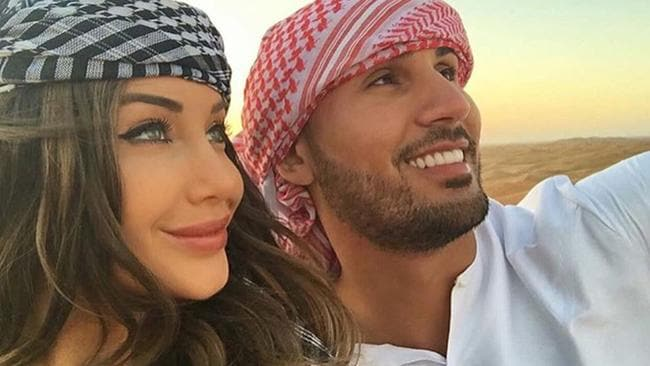 Auburn Councillor Salim Mehajer and his wife Aysha.