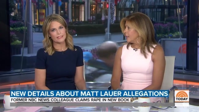 Savannah and Hoda respond to new Matt Lauer allegations