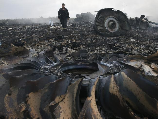 The MH17 disaster killed 38 Australians. Picture: Reuters