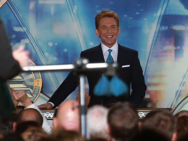 David Miscavige addresses Scientology members in Sydney. Picture: Supplied.