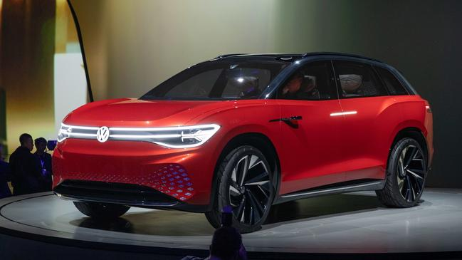 The ID Roomzz will be a seven-seat electric SUV.