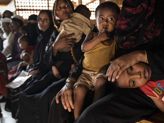 UN investigators say Myanmar's army has carried out genocide against the Rohingya in Rakhine state and that its top military figures must be investigated. Picture: Getty