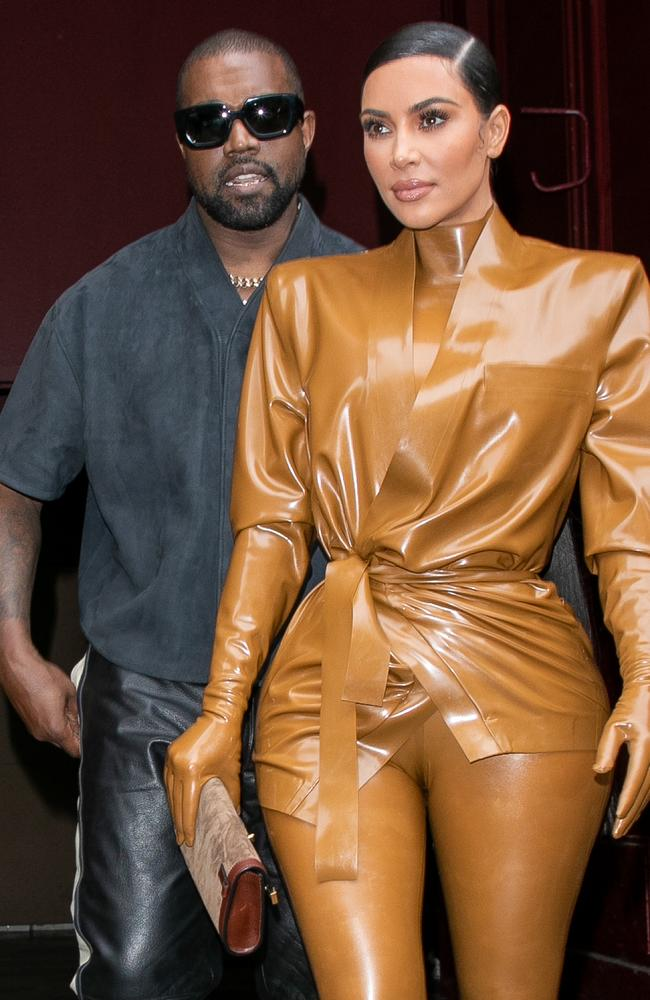 A TikTok star claimed Jeffree was the reason Kim and Kanye were breaking up. Picture: WireImage)