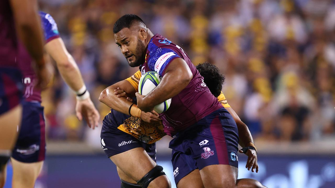 Taniela Tupou continues to dominate for the Reds. But will he be able to for the Wallabies? Photo: Getty Images