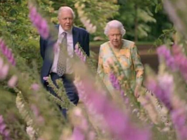 The Queen Sir David Attenborough