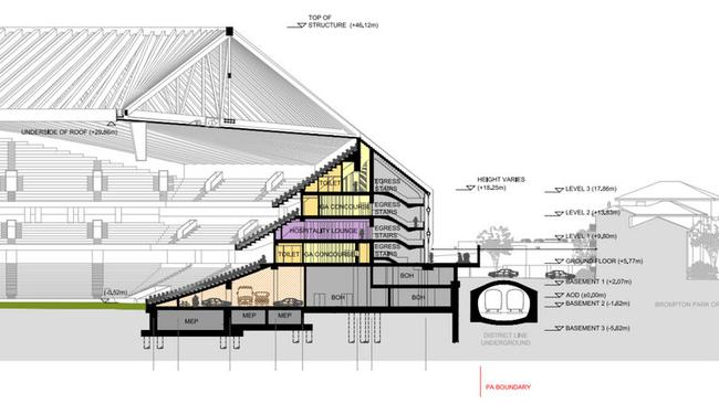 Nou Camp Plans Anfield Renovations Stamford Bridge