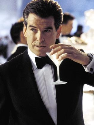 Pierce Brosnan starred in four James Bond films. Picture: Supplied