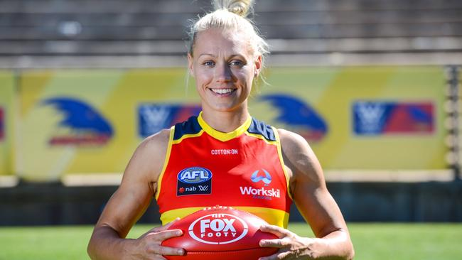 Erin Phillips has been named by Adelaide.