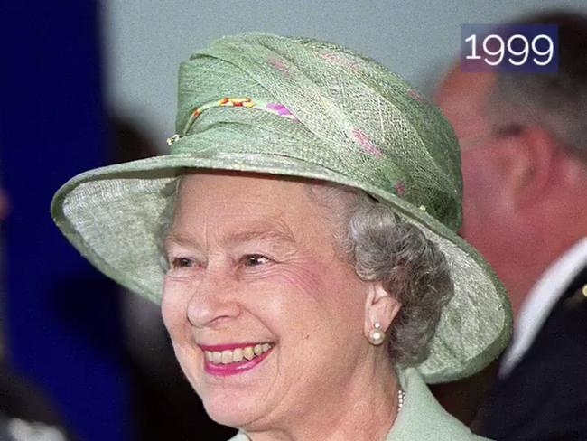 The Queen's 93rd Birthday is on April 21, 2019. This is one of many pictures released showing her love of colourful hats. Picture: Twitter/Royal Family