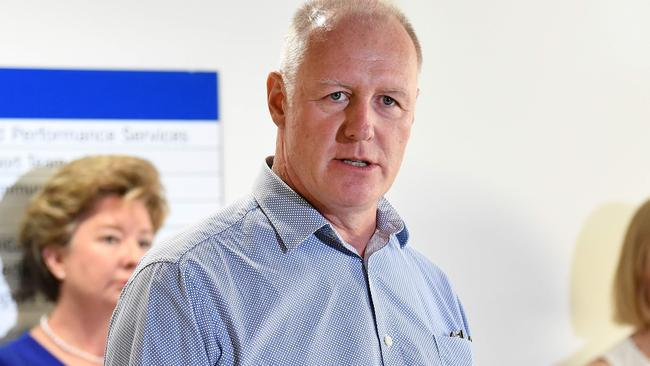 Dr John Wakefield, director-general of Queensland Health Said there is nothing to worry about with the jab. Picture: NCA NewsWire / Dan Peled