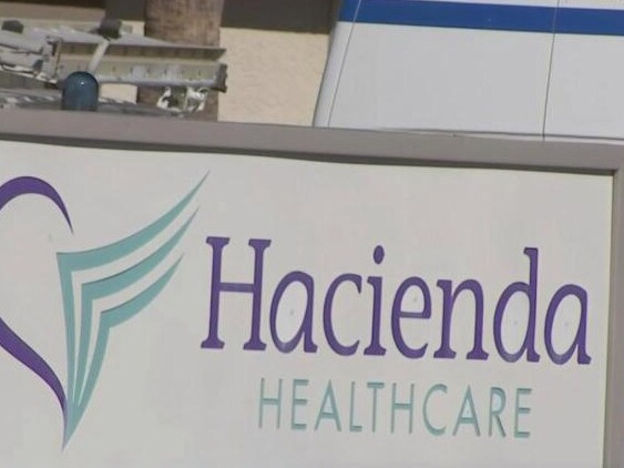 "Hacienda says its officials are ""troubled beyond words"" that someone who passed an extensive background check could harm a patient."