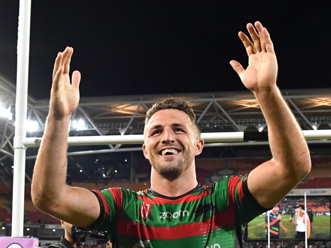 Sam Burgess was feeling the magic.