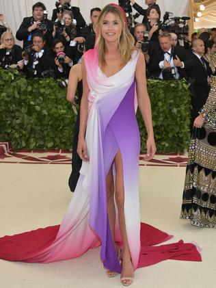 Doutzen Kroes attends the 2018 Met Gala in New York City. Picture: AFP