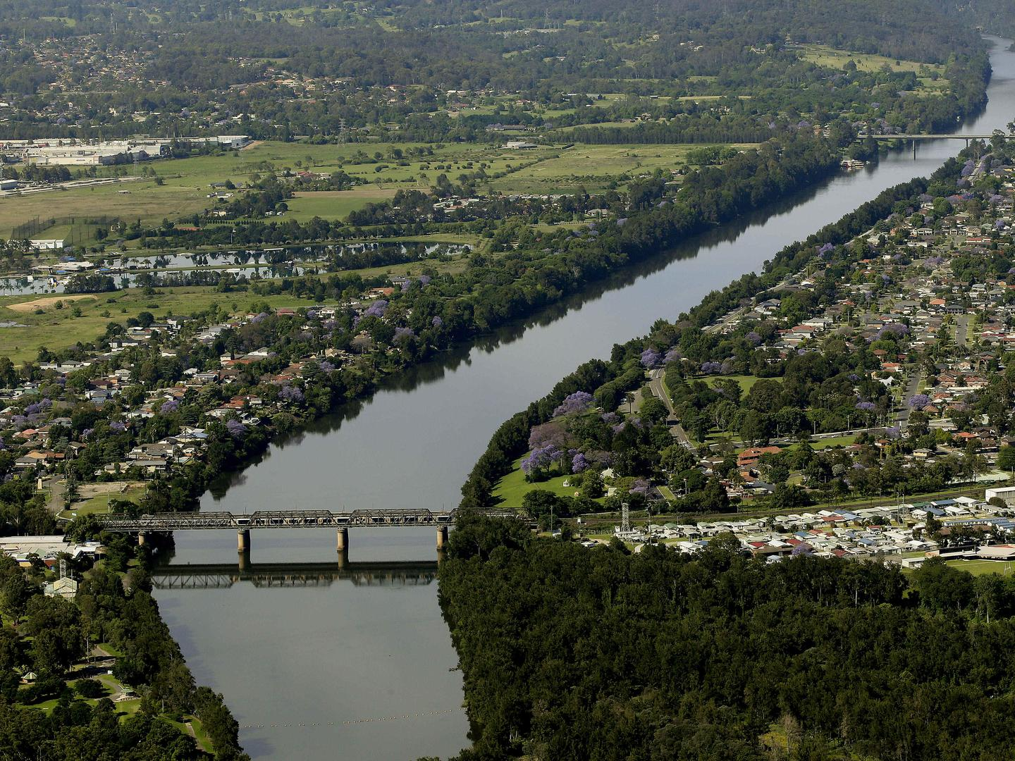 City-apartment builders who have done well in the past decade should consider making inquiries about Penrith, on the Nepean River. Picture: John Appleyard