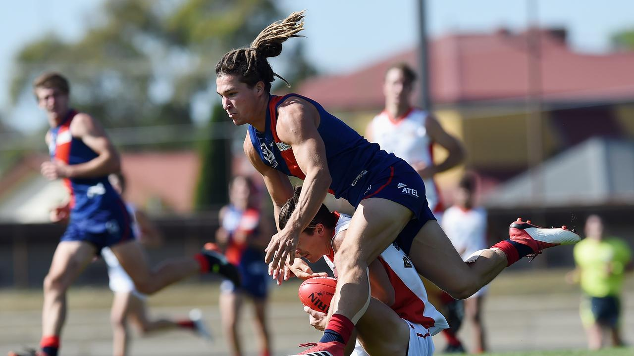 Coburg's Sam Lowson. Picture: Lawrence Pinder