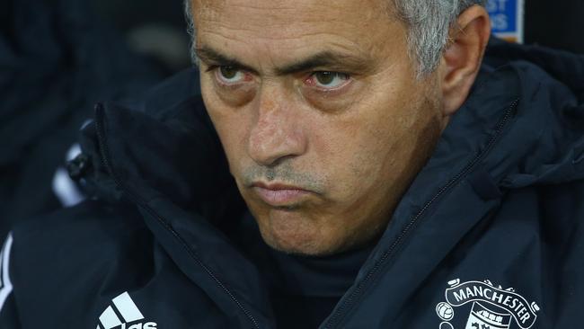 Manchester United's Portuguese manager Jose Mourinho