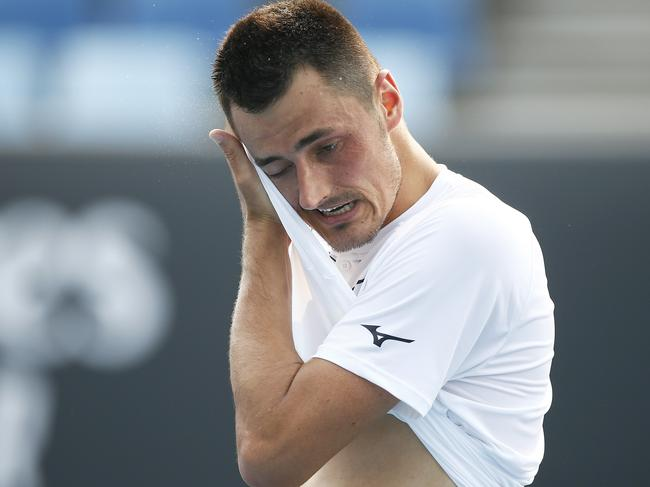 Tomic's career has been on a downward spiral for a while.