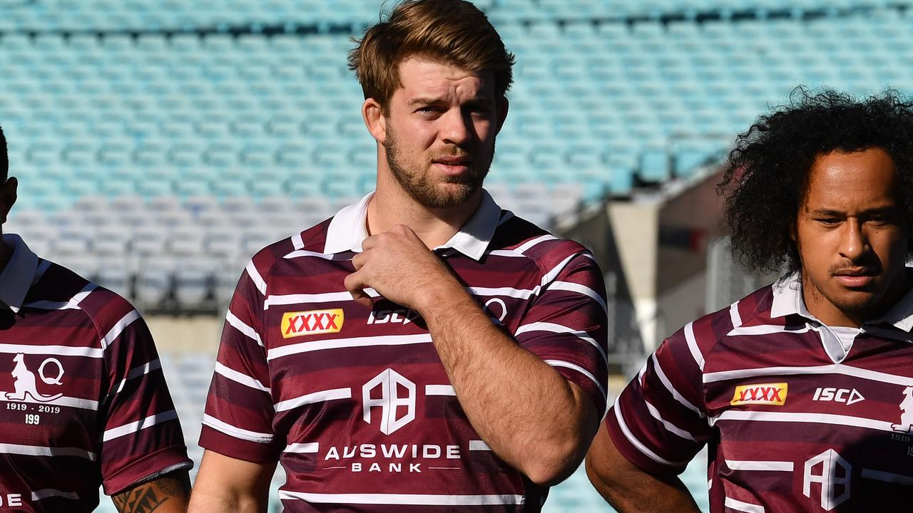 Christian Welch during last year's State of Origin series