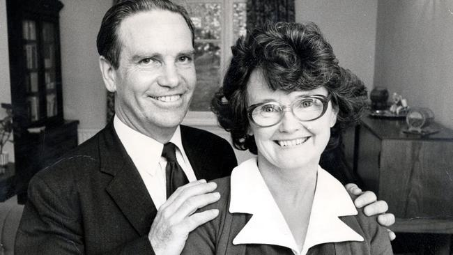 Stanley Dwight with his second wife Edna Picture: Daily Mail/REX/Shutterstock