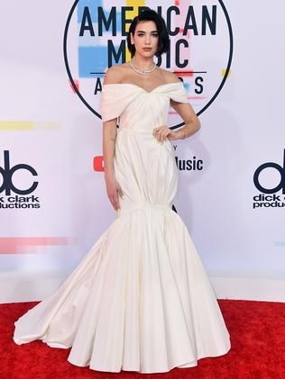 White hot Dua Lipa. Picture: Getty