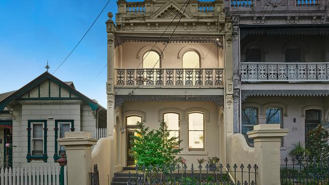 Kensington was a top auction performer this year. No. 52 Ormond St sailed $300,000 past its reserve and sold for $1.501 million in August.