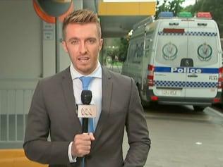 ABC crime reporter Mark Reddie