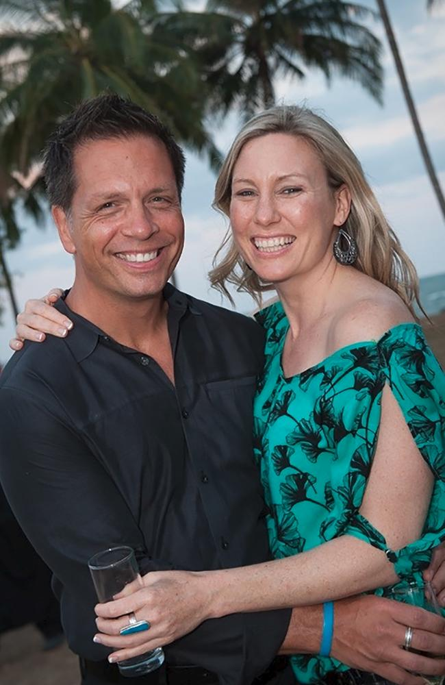 EJustine Damond Ruszczyk and her fiance Don Damond lived together for two years before her death. Picture: Supplied