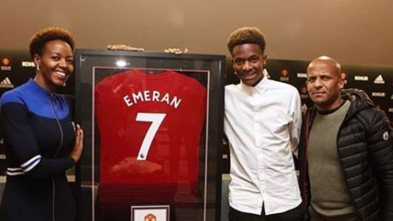 premium selection 798bc a578d EPL news: Manchester United signing Noam Emeran takes Alexis ...