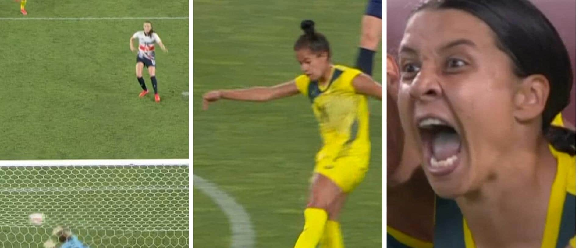 The Matildas trailed 1-2 in the 89th minute... and then went NUTS.