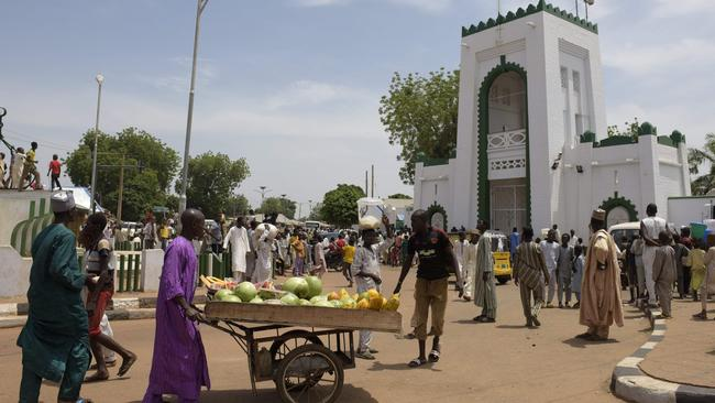 Sokoto, in northwest Nigeria, where police are reported to have broken up an illegal same-sex wedding. Picture: AFP