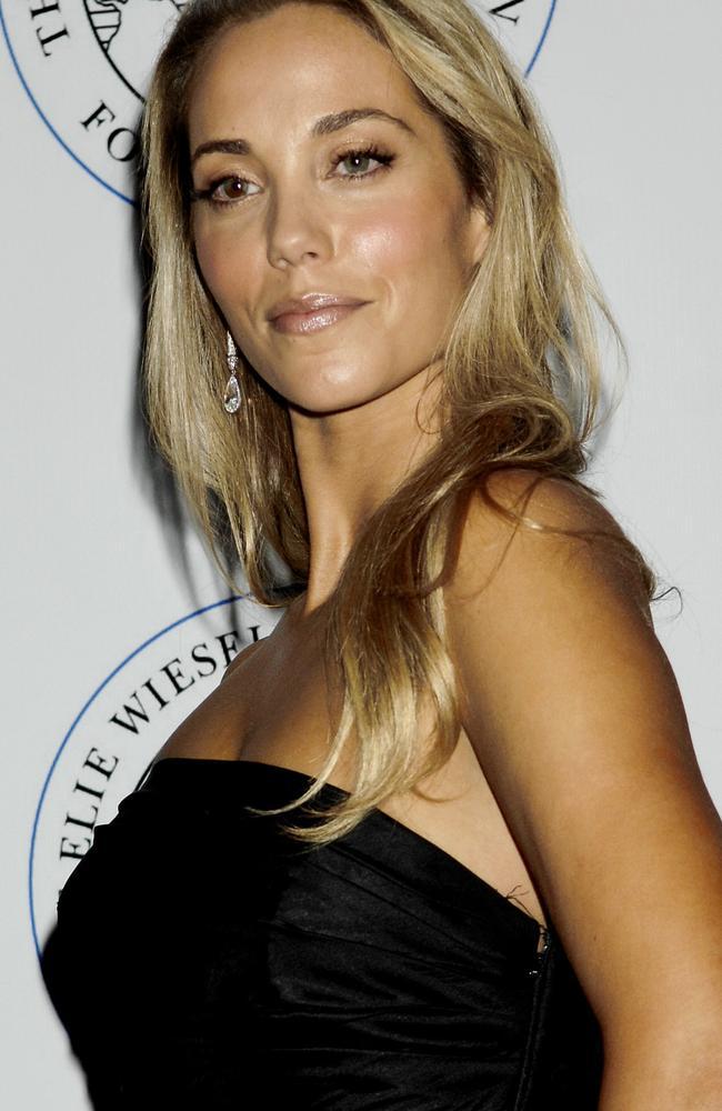Elizabeth Berkley in 2007 at a New York fundraiser Picture: AP Photo/ Louis Lanzano.