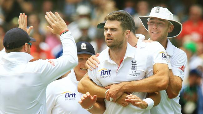 James Anderson knows silencing home crowds is key to England's Ashes hopes.