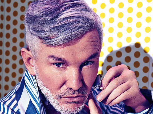 Baz Luhrmann in a recent shoot for Sunday Style. Photo: STEVEN CHEE Styling: KELLY HUME