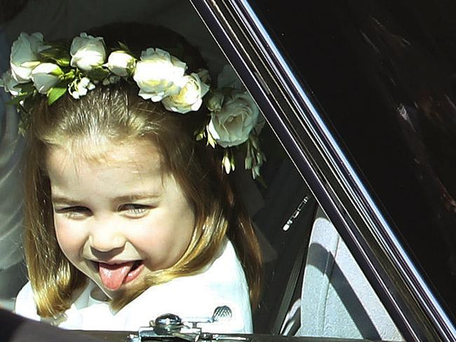 Little Princess Charlotte will soon have to learn strict rules and protocols for behaviour. Picture: AP