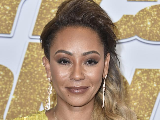 It is unclear how Mel B sustained her injuries but they were serious enough to force her to cancel the New York City date of her book tour. Picture: Getty