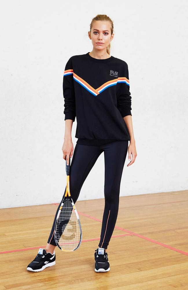 Back to basics with P.E. Nation, which will show its new season collection at David Jones' launch this week. Picture: Supplied