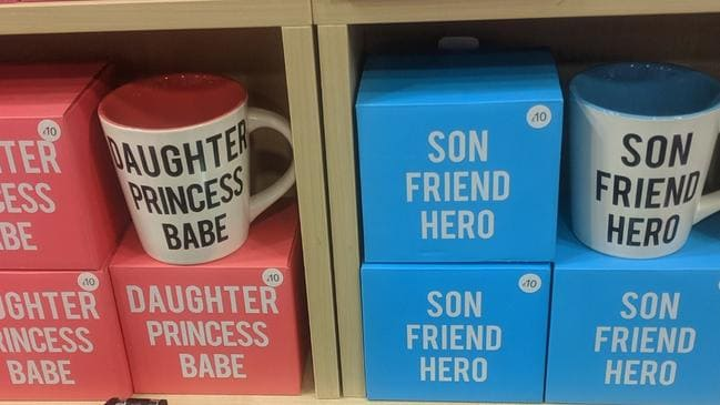 The gendered mugs have received major backlash from customers. Picture: Twitter/lost_forevers