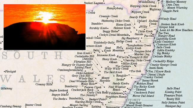 Rude place names: The rudest places to visit in NSW | Daily